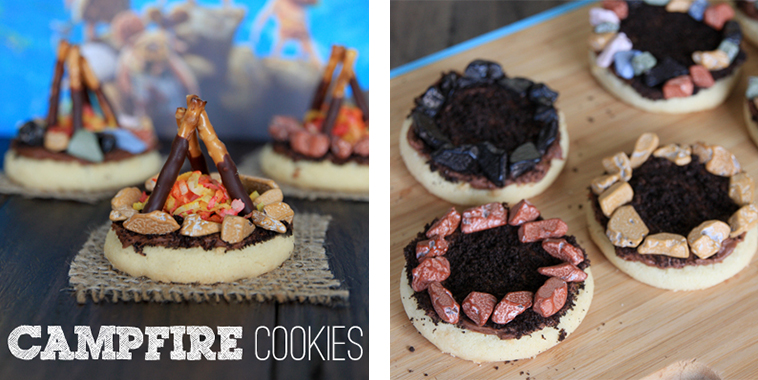 Campfire-cookie