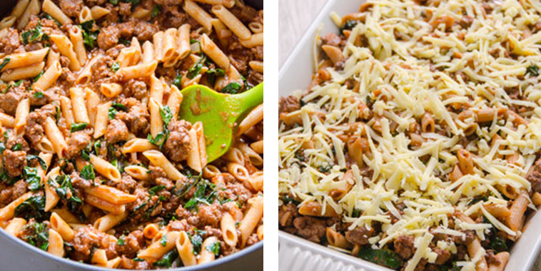Light-Turkey-and-Kale-Pasta-Bake-Recipe