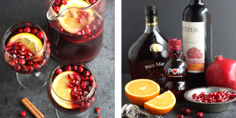 Pomegranate-Orange-Sangria