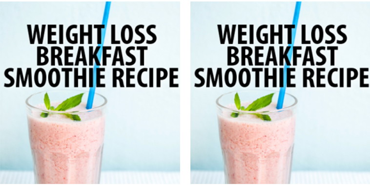Weight-Loss-Breakfast-Smoothie
