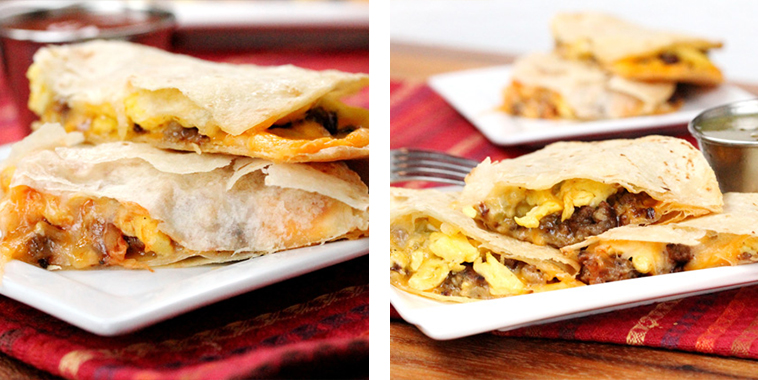 Crispy-Breakfast-Quesadillas