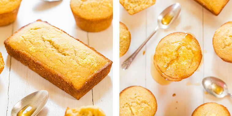 Honey-Cornbread-Muffins