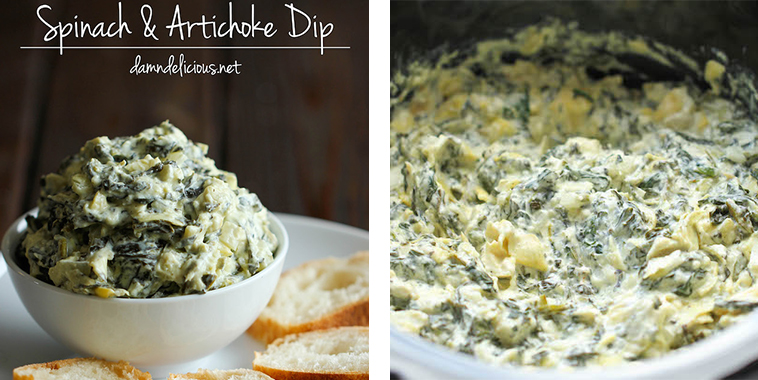 Slow-Cooker-Spinach-and-Artichoke-Dip