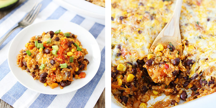 Black-Bean-and-Quinoa-Enchilada-Bake