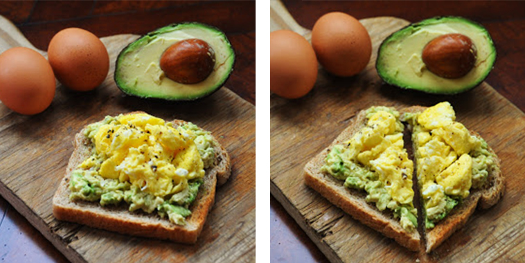 Egg-And-Avocado-Toast