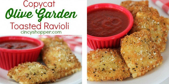 Copy Cat Olive Garden Toasted Ravioli Get Daily