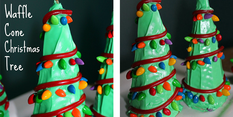 Waffle-Cone-Christmas-Trees