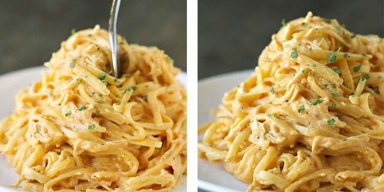 Cheesy-Buffalo-Chicken-Pasta