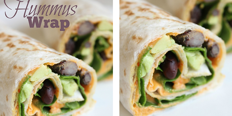 Healthy-Hummus-Wrap