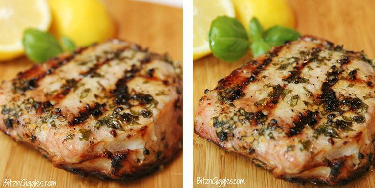 Lemon-Basil-Grilled-Pork-Chops