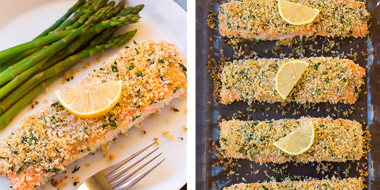 Panko-Crusted-Honey-Mustard-Salmon