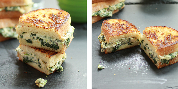 Spinach-and-Artichoke-Melts